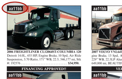 Marketbook Ca Over The Road And Commercial Truck Trailer For